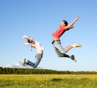 Sport dodává mladým lidem pocity štěstí a zdraví